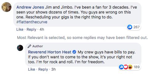 Reverend Horton Heat tweet 2