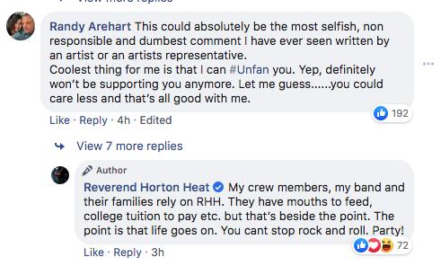 Reverend Horton Heat tweet 3