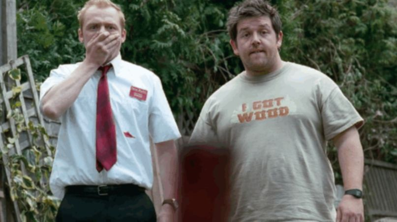 Simon Pegg Nick Frost Shaun of the Dead Coronavirus PSA