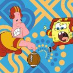 Spongebob football