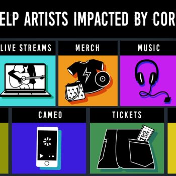 Tips to Help Artists musicians Impacted affected struggling Coronavirus