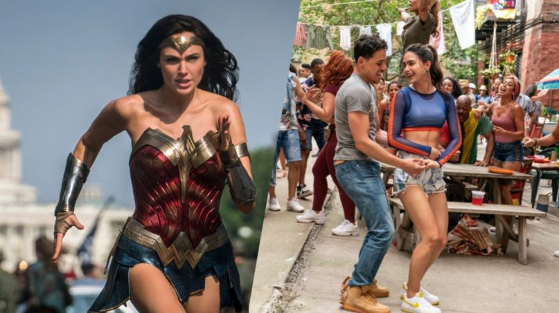 Wonder Woman 1984 in the heights scoob delayed warner bros