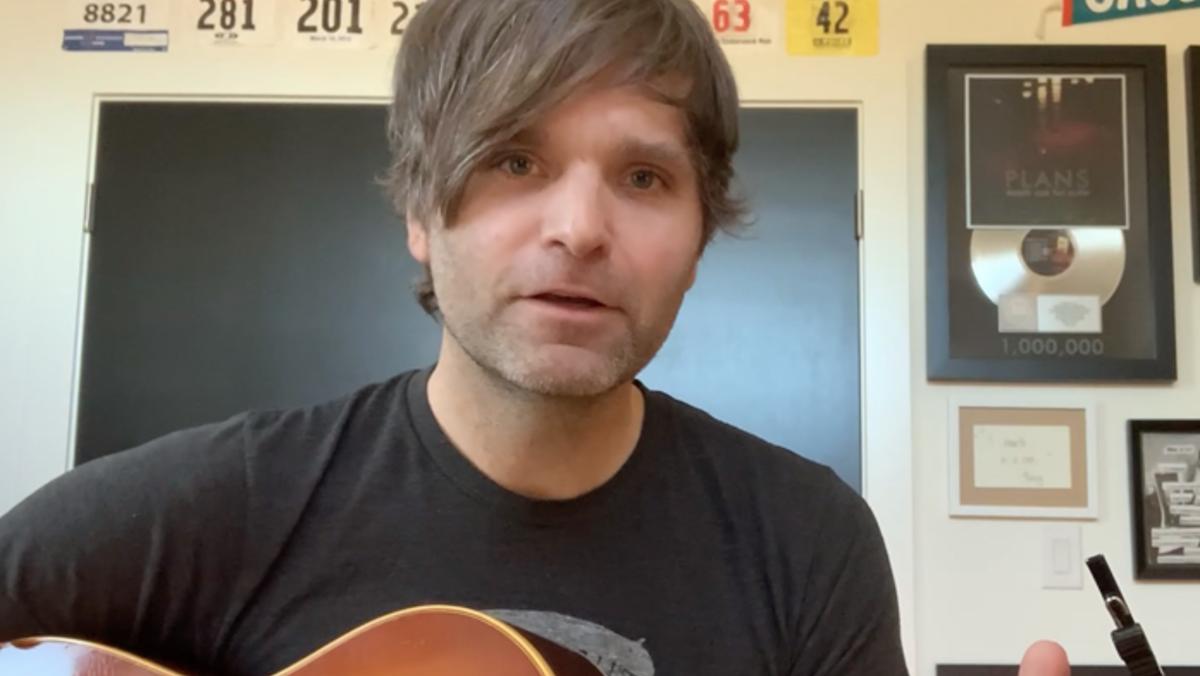 Watch Ben Gibbard Debut New Song Life Under Quarantine