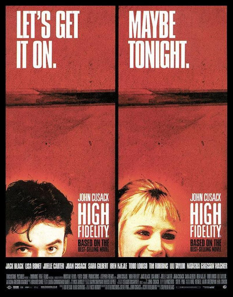 high fidelity posters Top Five: An Oral History of High Fidelity