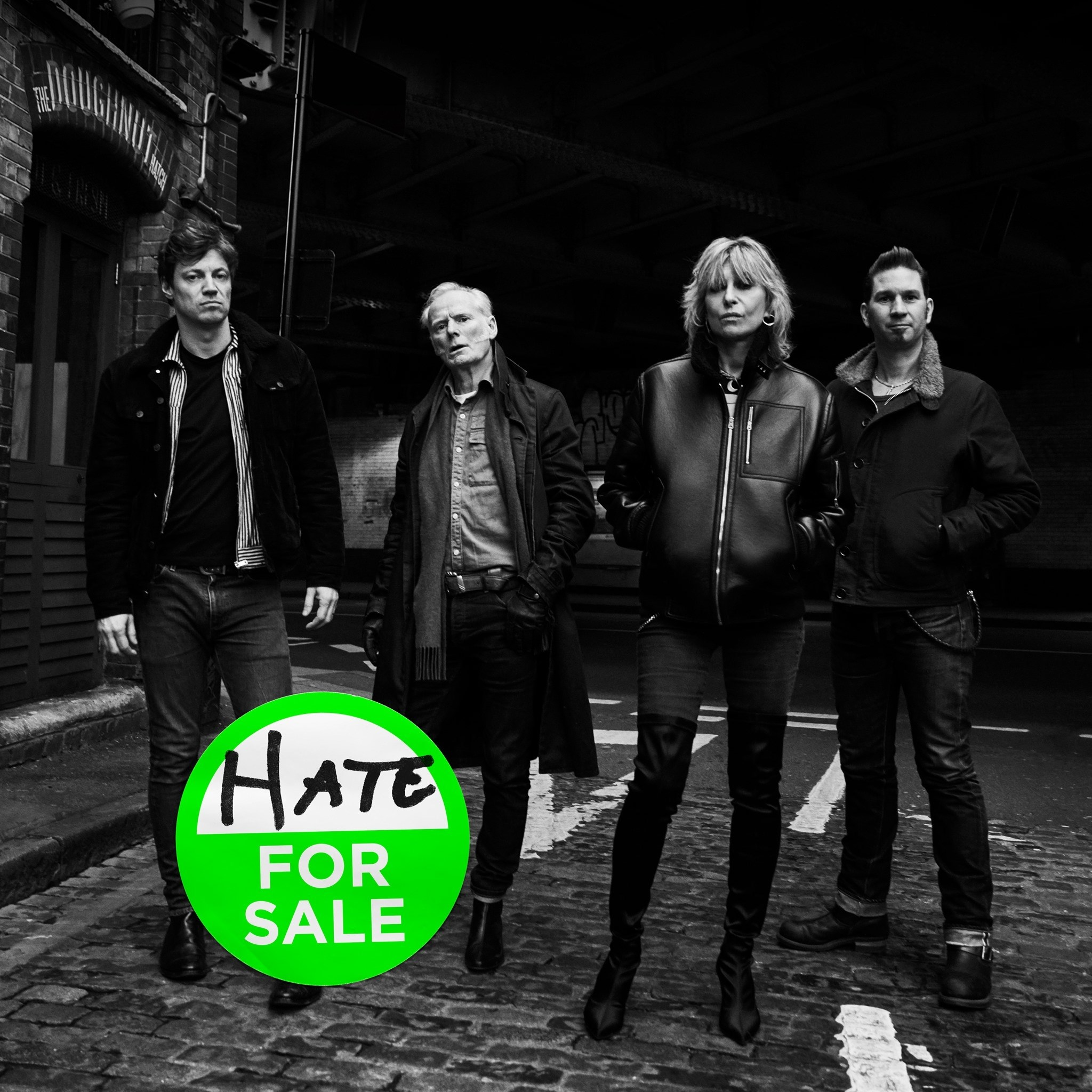 the pretenders hate for sale album cover artwork