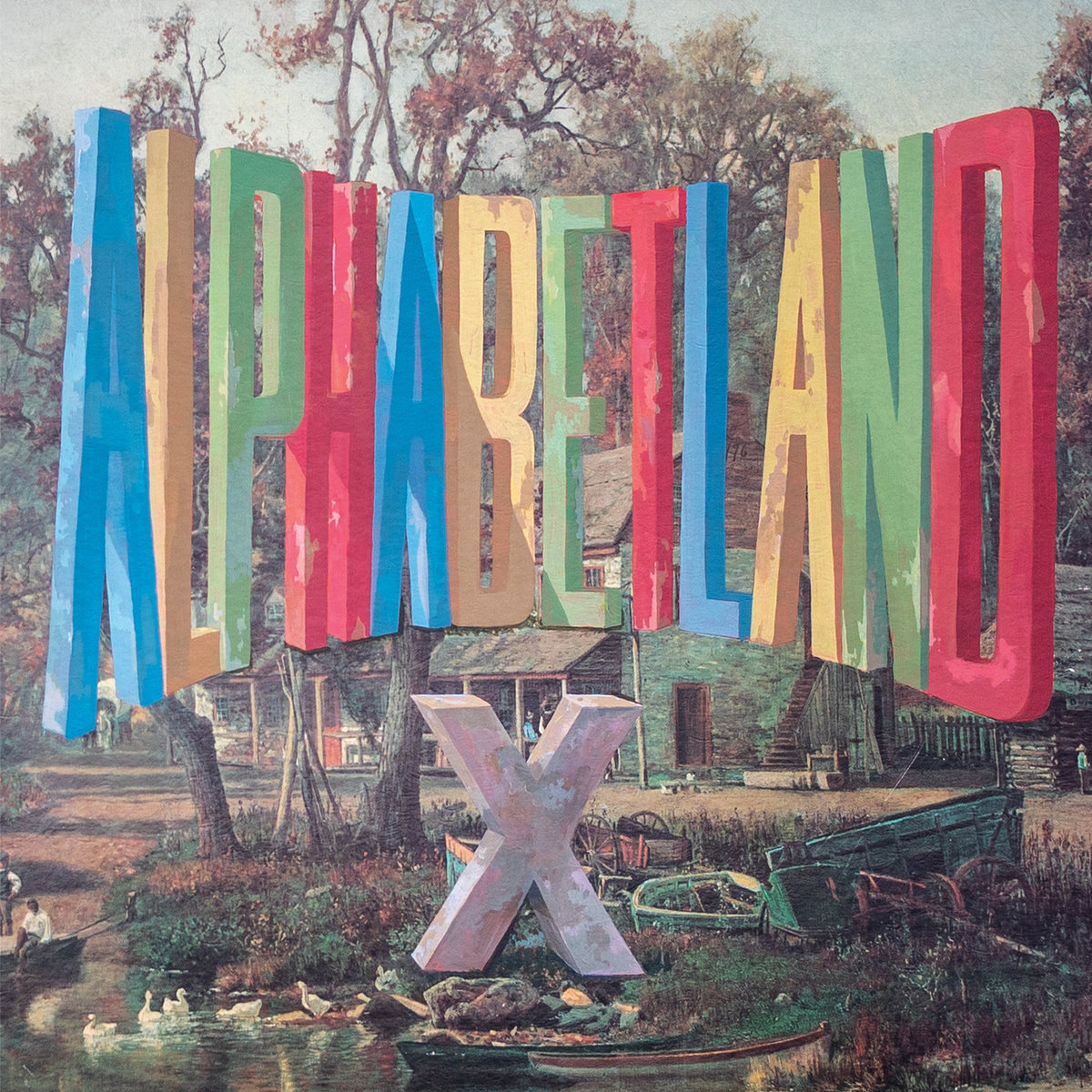 Alphabetland by X album artwork cover art