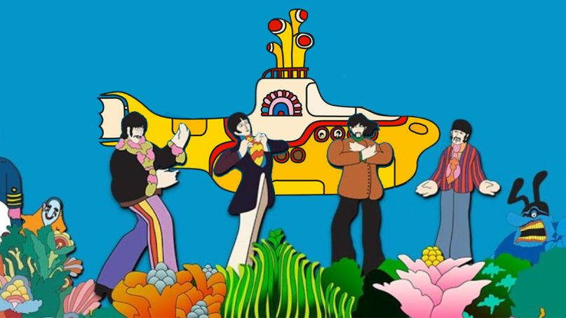 Beatles Yellow Submarine Sing along stream youtube