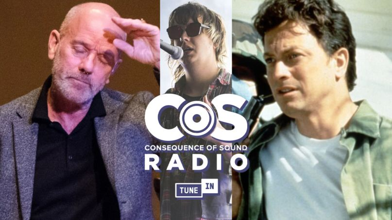 Consequence of Sound Radio TuneIN Michael Stipe REM the strokes the stand losers club