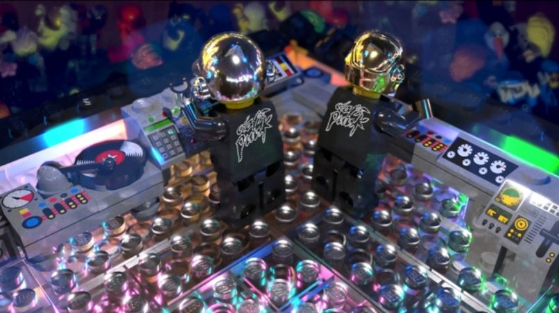 Daft Punk LEGO set, photo by Patrick Harboun