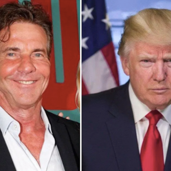 Dennis Quaid Says Donal Trump is Doing a Good Job