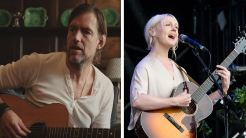 Ed O'Brien (EOB) and Laura Marling (Nathan Dainty) Cloak of the Night new song EOB album