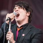 Gerard Way demos new song My Chemical Romance music, photo by David Brendan Hall