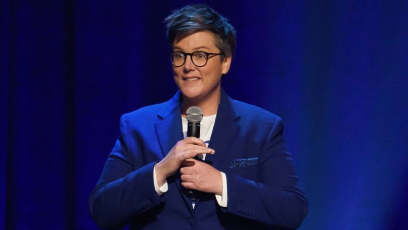 Hannah Gadsby Douglas comedy special Netflix show standup, photo courtesy of Netflix