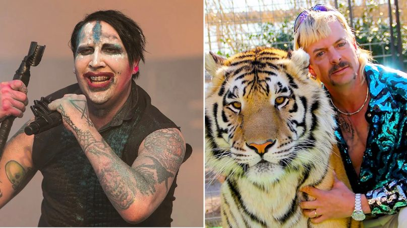 Marilyn Manson snubs Joe Exotic