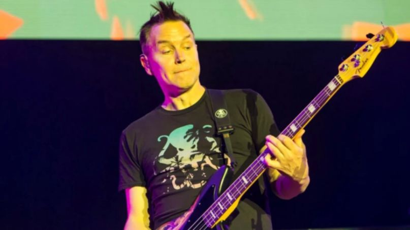 Blink-182 songs bracket ranking Mark Hoppus, photo by Philip Cosores