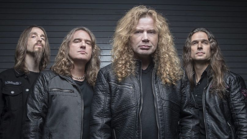 Megadeth new album on hold