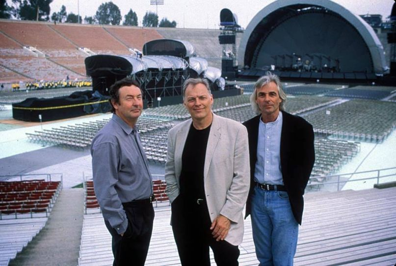 Pink Floyd (1994), photo via Facebook