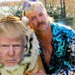 President Donald Trump Joe Exotic Tiger King