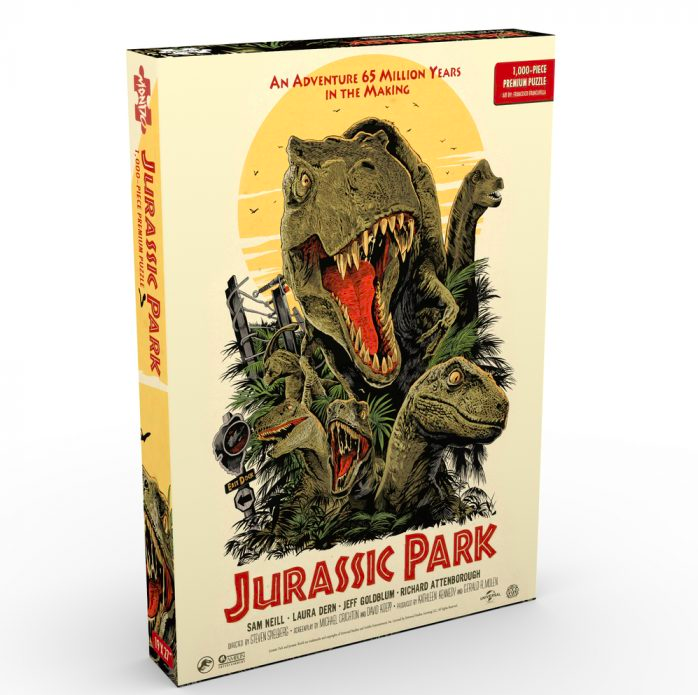 Puzzle Jurassic Park2 Mondo Announces Puzzles Based on Jurassic Park, Die Hard, The Iron Giant and More
