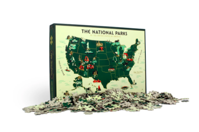 Puzzle National Parks Mondo Announces Puzzles Based on Jurassic Park, Die Hard, The Iron Giant and More