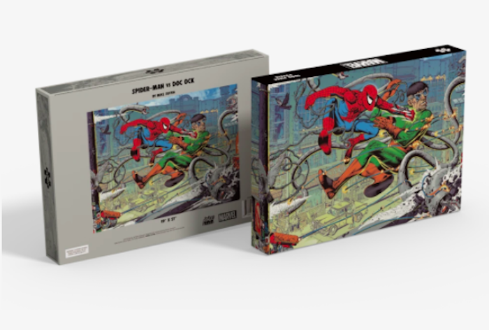 Puzzle Spider Man Mondo Announces Puzzles Based on Jurassic Park, Die Hard, The Iron Giant and More