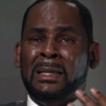 R Kelly crying