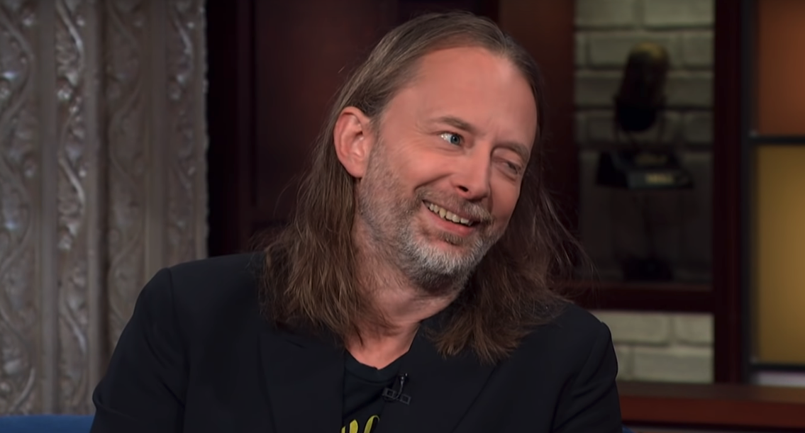 Radiohead Thom Yorke.