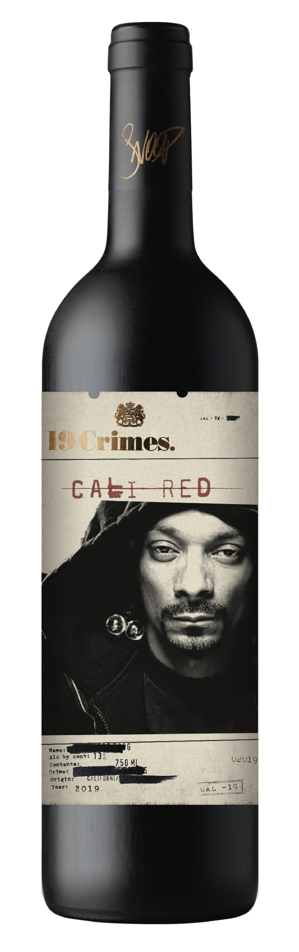 """Snoop Cali Red"" by 19 Crimes Snoop Dogg"