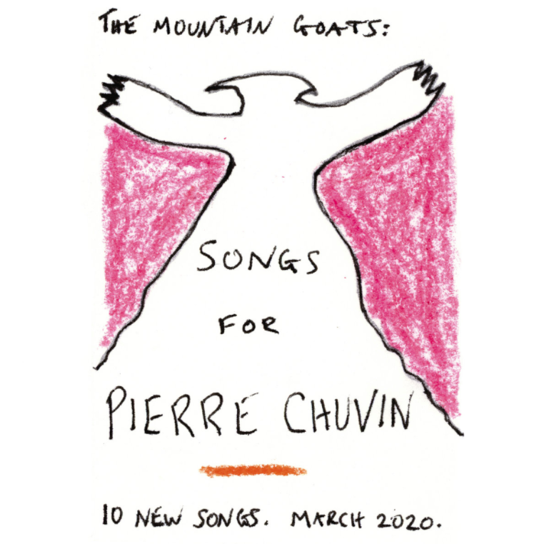 Songs for Pierre Chuvin Artwork The Mountain Goats Reveal New Album Songs for Pierre Chuvin: Stream