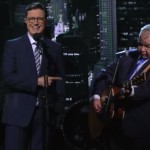 Stephen Colbert John Prine Late Show That's The Way the World Goes Round