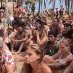 Stranded attendees of Tribal Gathering Music Festival