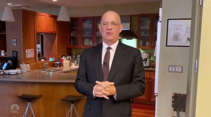 Tom Hanks hosting SNL At Home