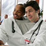 Zach Braff Donald Faison Scrubs podcast fake doctors real friends