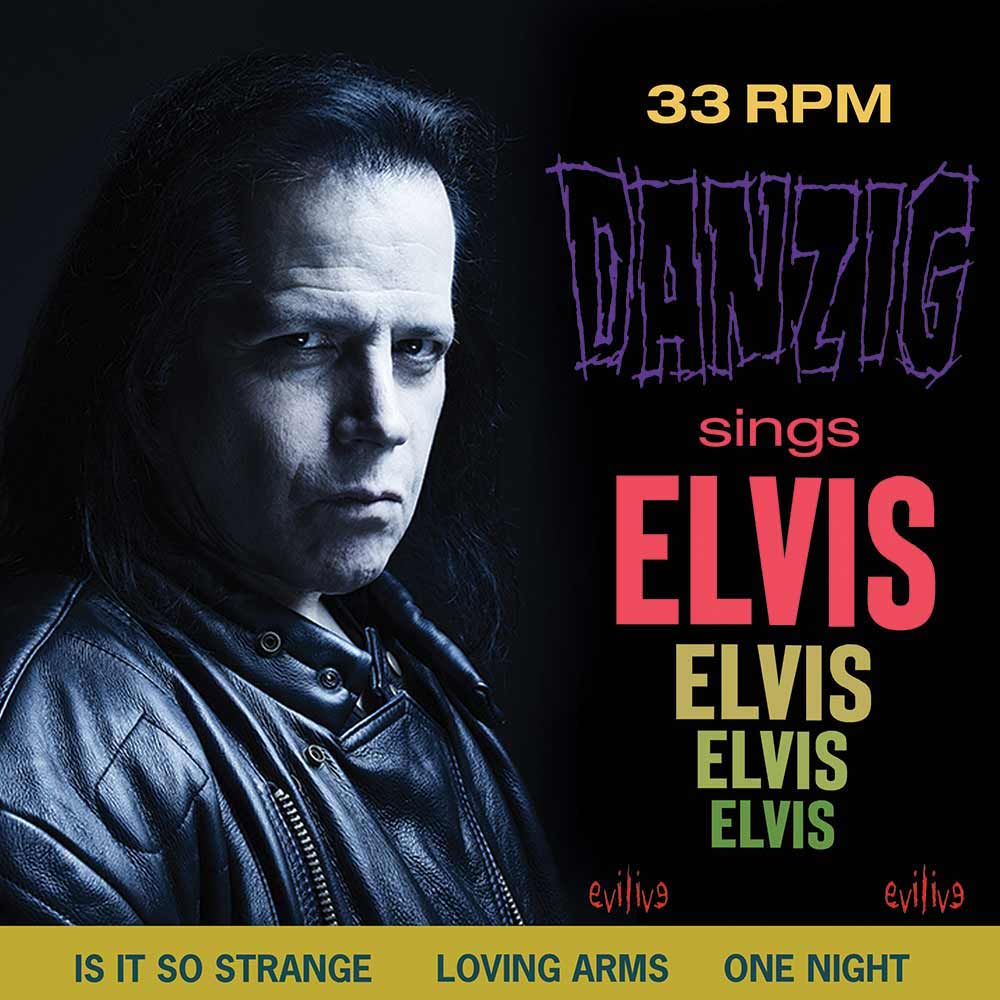 danzig sings elvis album new artwork Glenn Danzig Reveals New Covers Album Danzig Sings Elvis: Stream