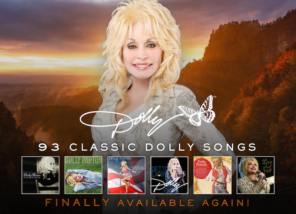 dolly parton 93 songs digital streaming now pandemic Dolly Parton Adds Six Albums to Streaming Platforms