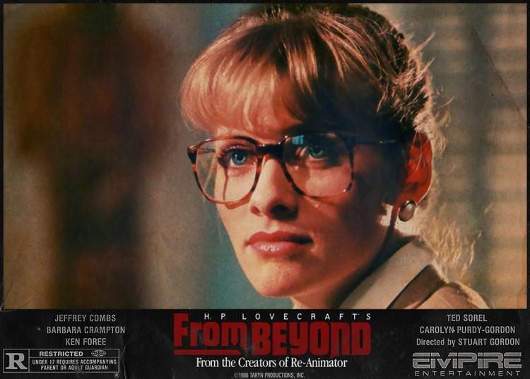 Barbara Crampton in From Beyond