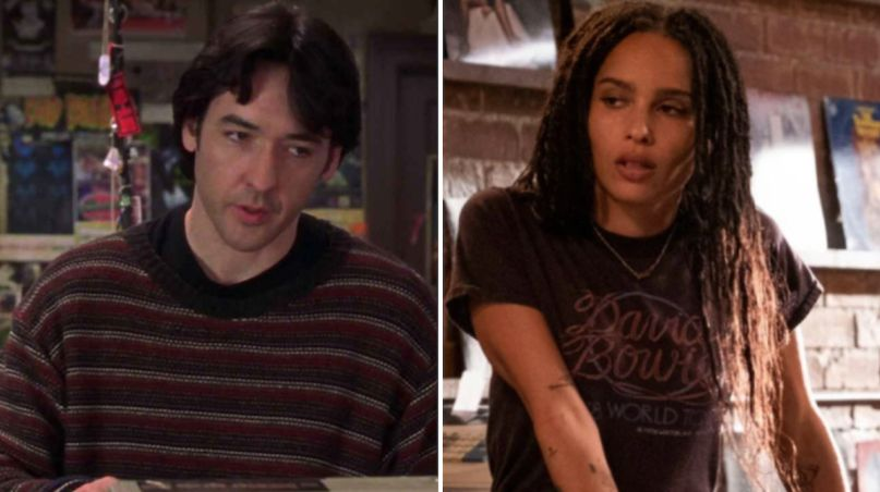 high fidelity john cuask hulu screenwriters writers credit Zoë Kravitz