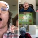 Matthew McConaughey virtual bingo zoom seniors