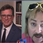 Thomas Lennon as Joe Exotic on Late Show With Stephen Colbert
