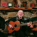 willie nelson lukas micah colbert video performance watch