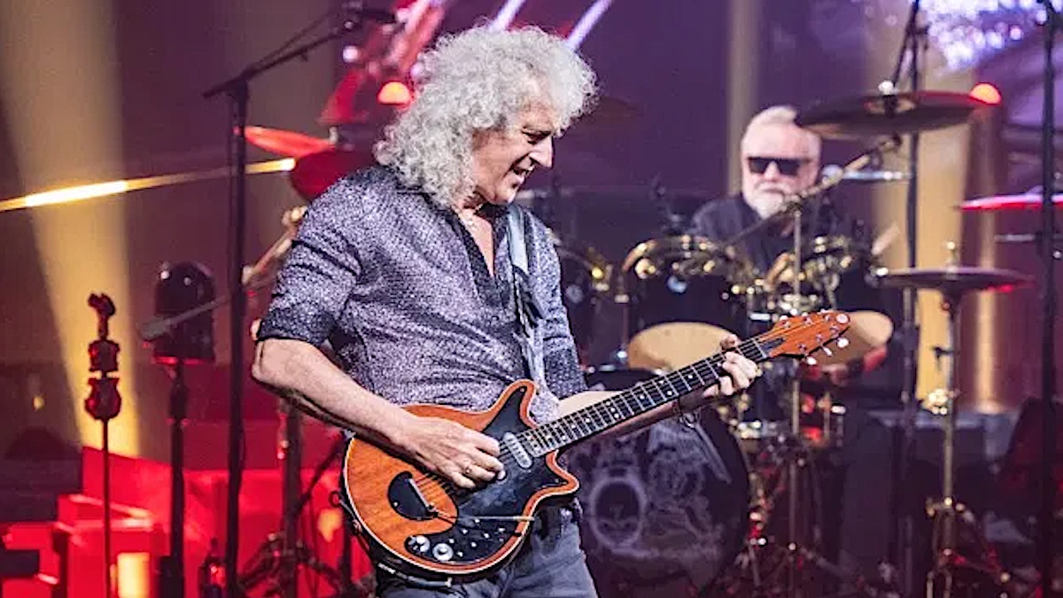 """Queen's Brian May reveals he nearly died from """"stomach explosion"""""""