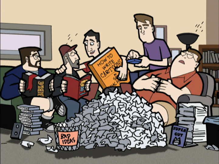 Clerks cartoon writers room Clerks: The Animated Series: The Definitive Oral History