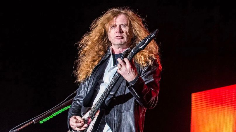 Dave Mustaine vocals new Megadeth album