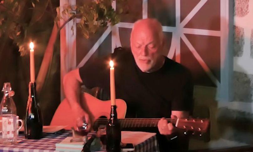 David Gilmour covers Syd Barrett