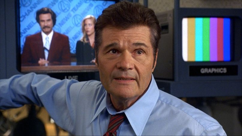 Fred Willard in Anchorman