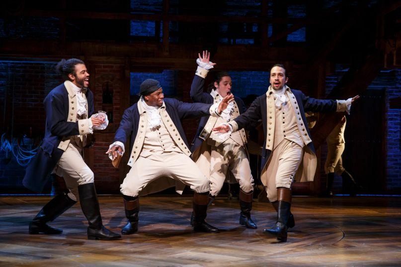 Hamilton, photo via Disney