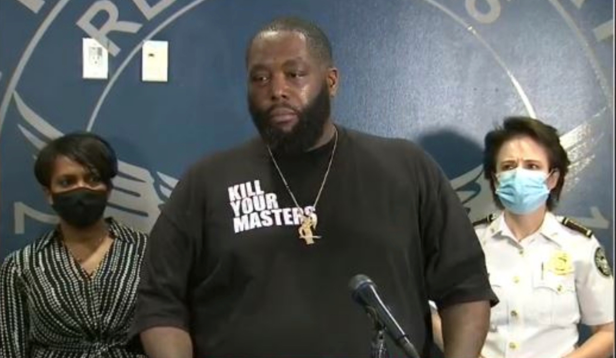 "Killer Mike gives impassioned plea to Atlanta protestors: ""It is not time to burn down your own home"""