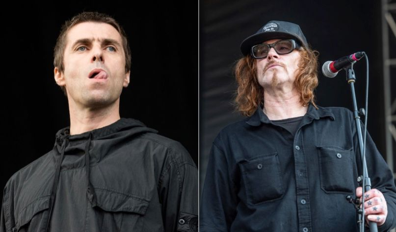 Liam Gallagher and Mark LaneganLiam Gallagher and Mark Lanegan