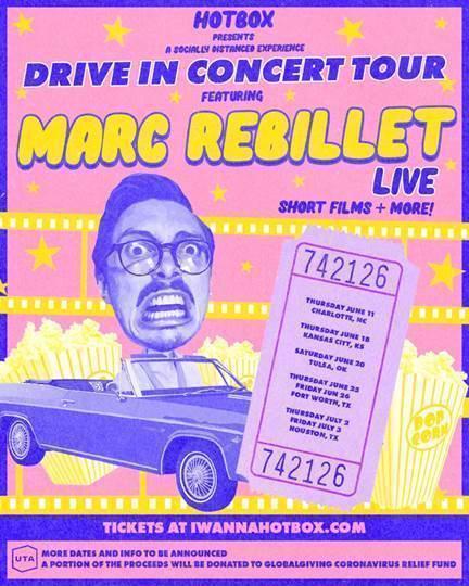 Marc Rebillet Drive-In Concert Tour