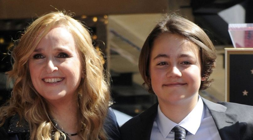 Melissa Etheridge with son Beckett Cypher